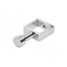 ВКР04 Вешалка -Крючок с разьемным кольцом для п/с квадратный профиль