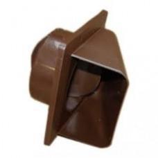 KRD 150х150 Решетка вентил-я с клапаном корич